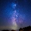 28/09/2014 – 21:35 Milky Way - Ligurian Appenines, hinterland of Sestri Levante. Riviera Ligure di Levante, Genoa Italy