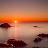29/11/2013 – 16:43 Tramonto allo scoglio Asseu nel Golfo di Riva Trigoso, Sestri Levante, Genoa Italy