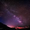 30/06/2014 – 23:54 La Via Lattea vista dagli Appennini, entroterra di  Sestri Levante, Golfo del Tigullio, Riviera Ligure di Levante, Genoa Italy