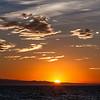 17/09/2013 – 19:25 Tramonto sul Mar Ligure. Sullo sfondo le Alpi Marittime. Sestri Levante, Genoa Italy