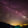 01/07/2014 – 00:02 La Via Lattea vista dagli Appennini, entroterra di  Sestri Levante, Golfo del Tigullio, Riviera Ligure di Levante, Genoa Italy