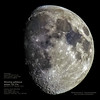 Wednesday, August 8th 2014 21:26 Sestri Levante, Genoa Italy 44.2734°N  9.3996°E - Waxing gibbous moon 70.7%  Azimuth 177.5°  Altitude +26.1°