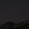 Geminids Over Longs Peak and Meeker
