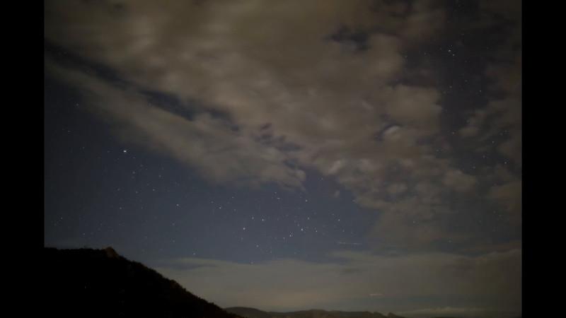 Perseid Meteor Time-lapse
