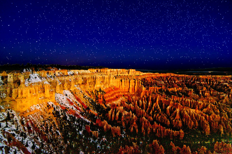 NEW!  Bryce Canyon, Utah, just before sunrise