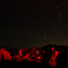 The camp at Table Mountain Star Party.