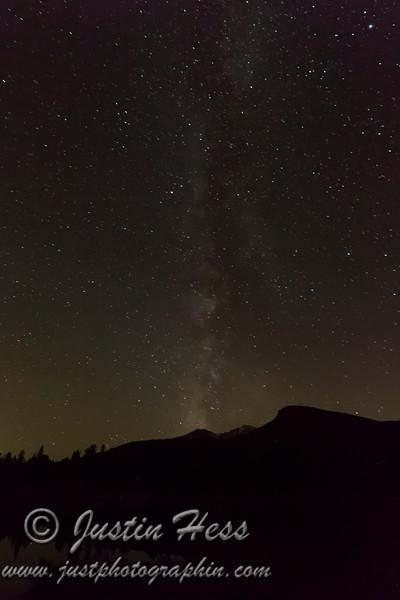 Milky Way Collision