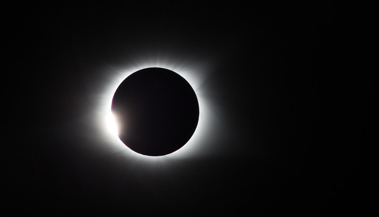 Diamond ring.  Start of totality.