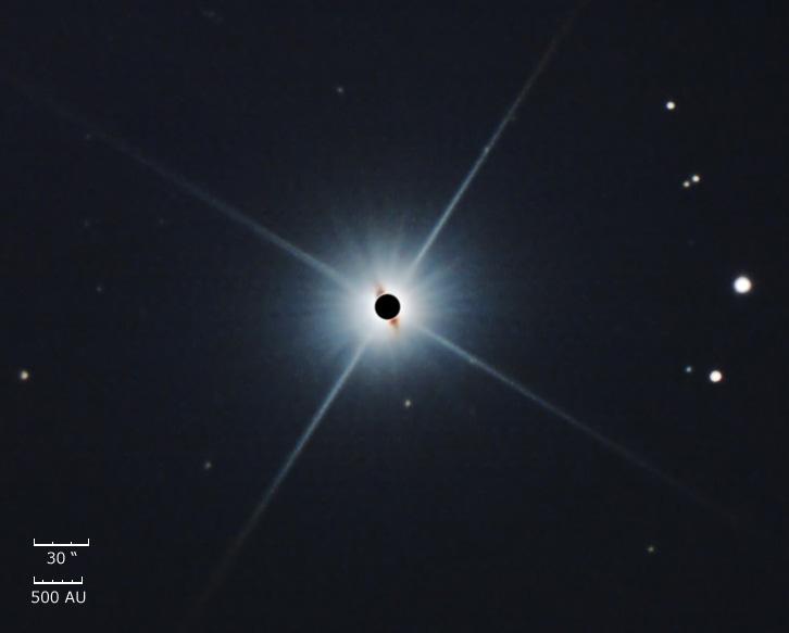 <h2>The Circumstellar Disc around Beta Pictoris</h2>