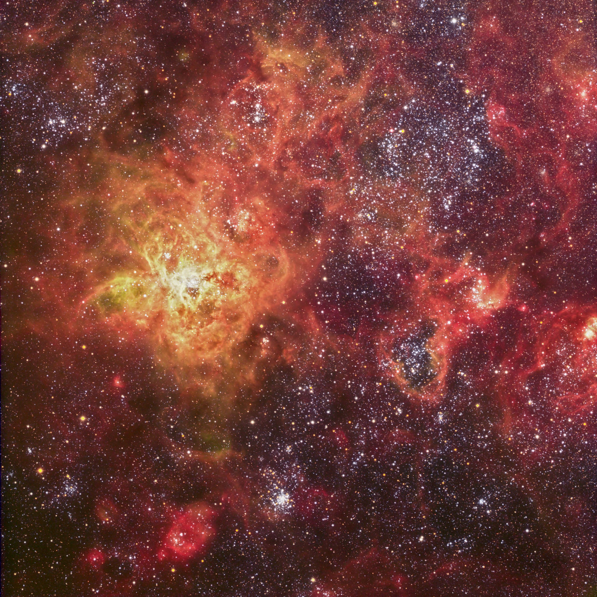 NGC2070, the Tarantula Nebula