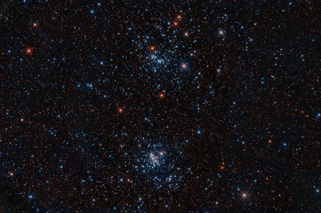 The Double Cluster (Perseus):  NGC884 and NGC869