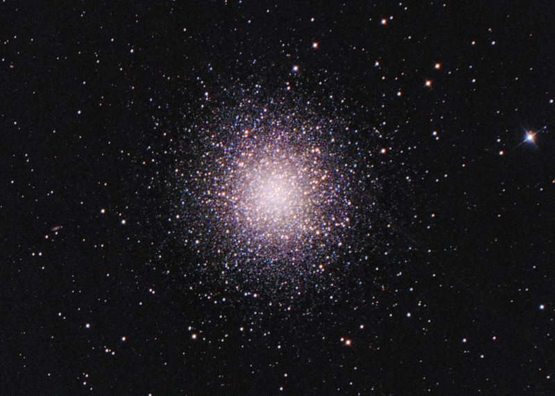 M13 Hercules Cluster (crop from full frame)