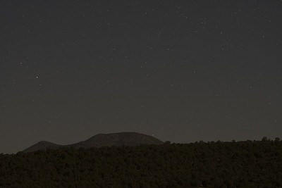 Comet Neowise Rising over South Mountain