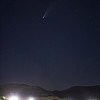 Comet C/2020 F3 (NEOWISE) NW from Lake Castaic, CA. 07-18-2020