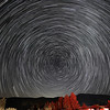 Star Trail with Comet C/2020 F3 (NEOWISE) NW from Frazier Park, CA. 07-19-2020