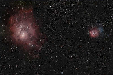 Nebulae (Color Wideband)