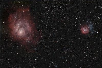 Nebulae (Color Wideband)