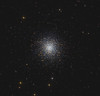 Target:  M13 (NGC 6205, globular cluster in Hercules)<br /> <br /> Distance from Earth:  25,100 light-years<br /> <br /> Image FOV:  27 x 26 arcmins<br /> <br /> Telescope: PlaneWave CDK 24 (f/6.5)<br /> <br /> Camera: FLI ProLine PL09000<br /> <br /> Images: LRGB data captured at an image scale of 0.62 arcsec/pixel (binned 1x1); 29, 60sec subexposures; 30 minutes (L), 9 minutes (R) and 10 minutes (GB) on May 22, 2016; total exposure time of 59 minutes<br /> <br /> Processing: MaxIm DL 6.12, Registar 1.0.9, CCDStack 1.3.2 and Photoshop CS3 with Noise Ninja, GradientXTerminator & StarSpikes Pro; final image scale 0.62 arcsec/pixel; image cropped