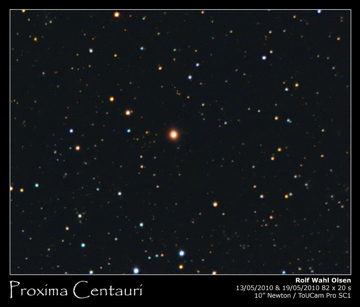 Proxima Centauri - The Nearest Star