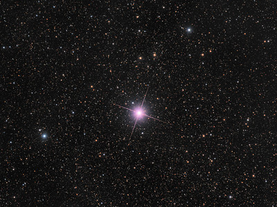 A Rare Pink Star - Nova Centauri 2013