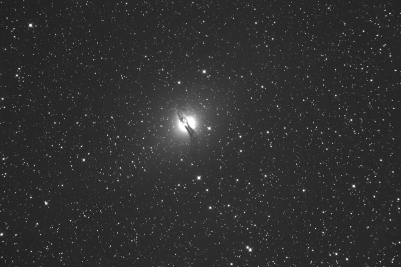 "This image was taken on an SBIG STL-11000 on this GSO 8"" RC telescope. It is not meant to show a pretty picture it is for examination of the quality of the star image in the corners. This effect is caused by field curvature and can be corrected. Using this image from a 36x24mm chip you can see what it may look like on your smaller sensor if you wanted. This issue can be corrected easily with a flattener. I could not find any uncorrected images on the web like this, so here you go!"