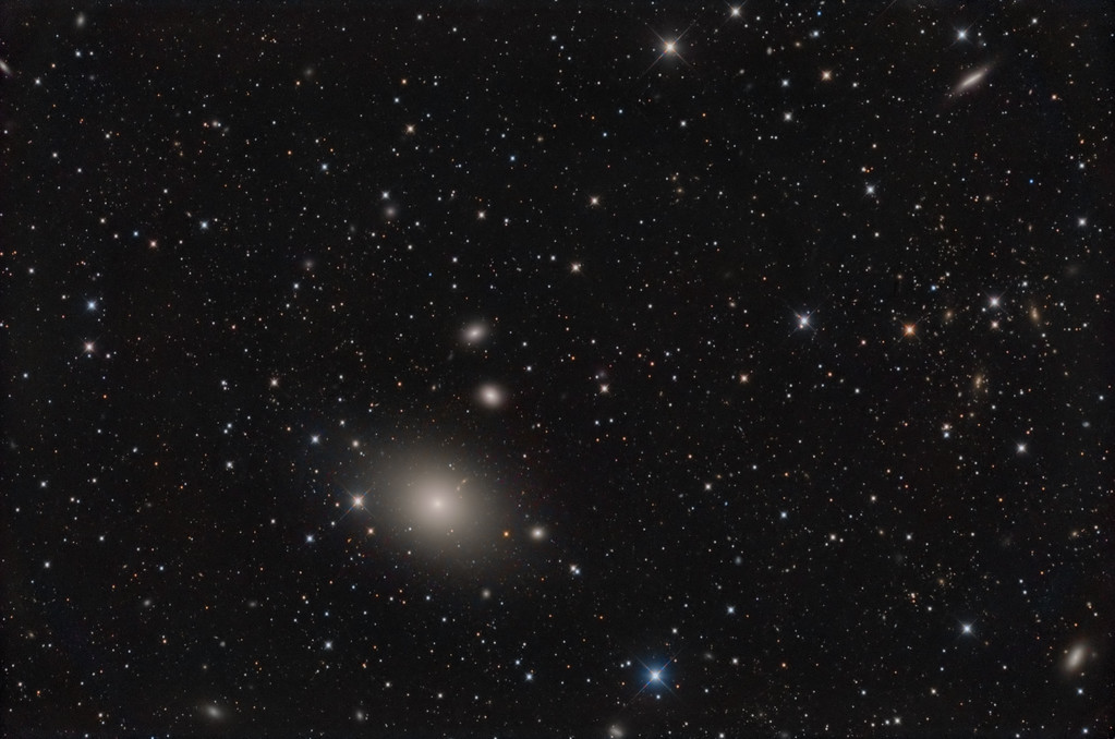 M87 and galaxy friends