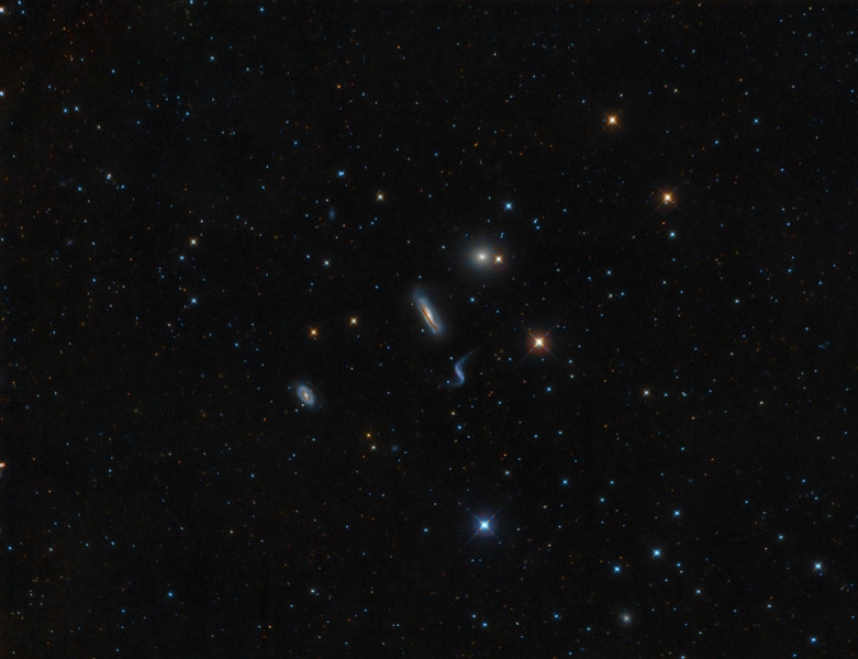 Hickson 44 Galaxy Group