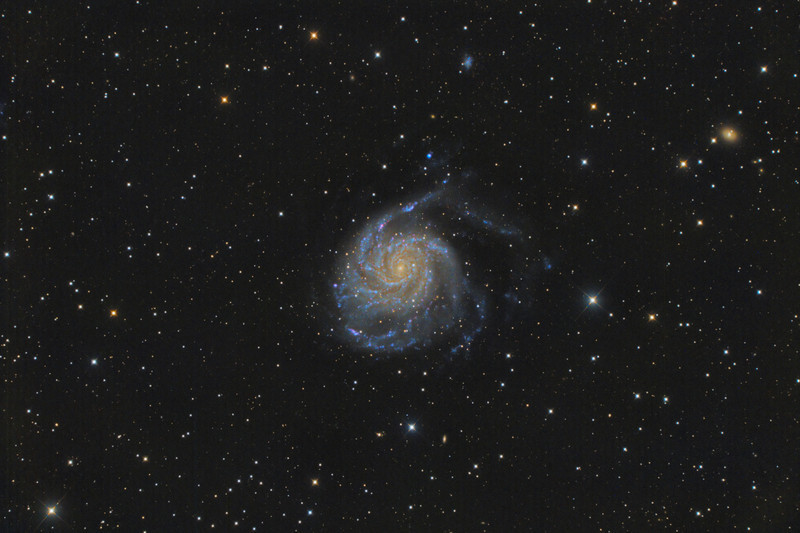 M101 The Pinwheel Galaxy