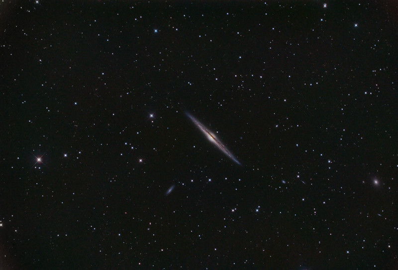 NGC 4565: the Needle Galaxy
