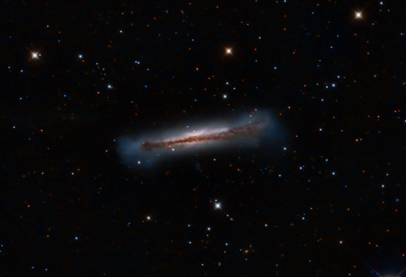 NGC 3628 (Hamburger Galaxy): Crop from Leo Triplet