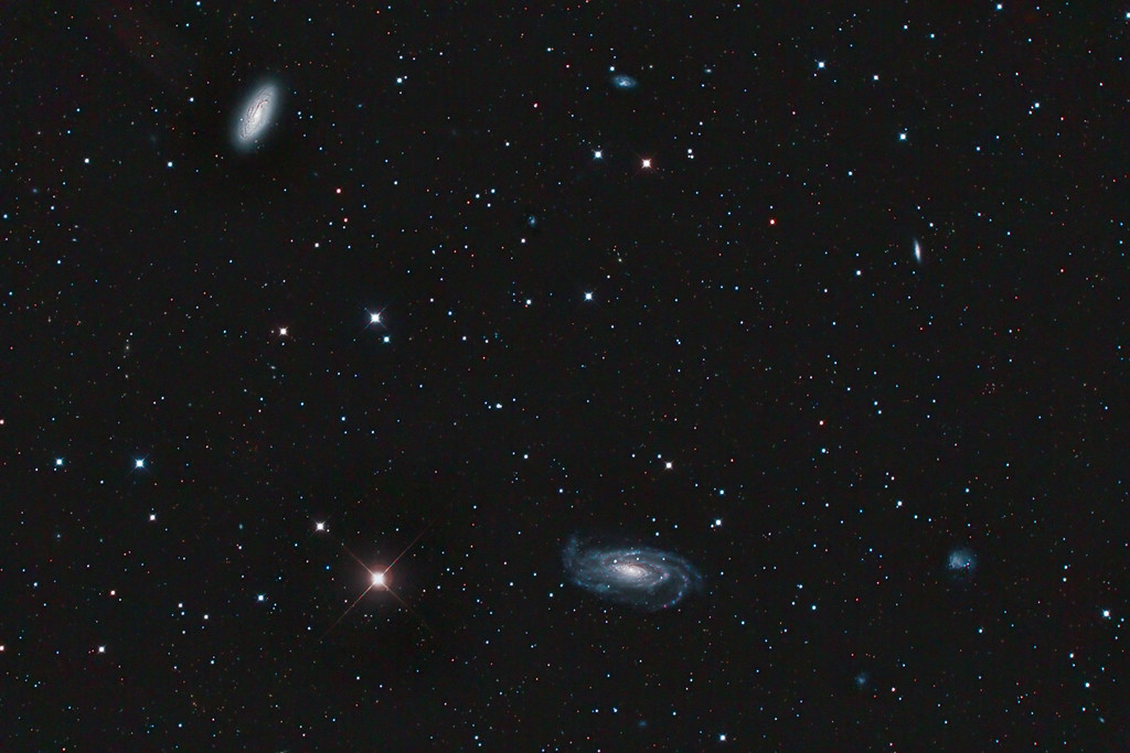NGC 5033 and Caldwell C29 in Canes Venatici
