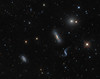 Hickson 44 Galaxy Group: very close crop from much larger frame, 60 million years old!