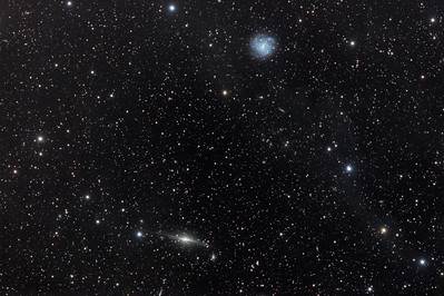 "NGC5084, NGC5068 and ""galactic cirrus"" in Virgo"