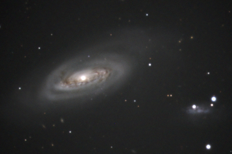 M90 Galaxy in Virgo