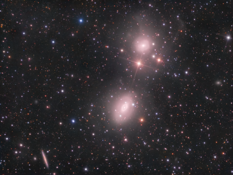 Interacting Galaxies NGC 1549 and NGC 1553 in the Dorado Group