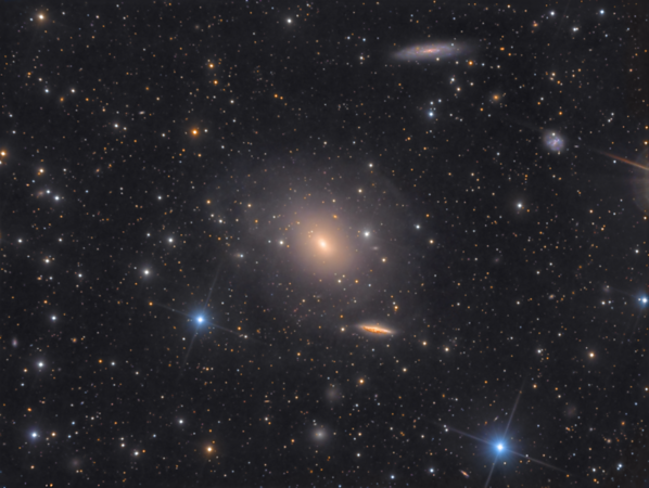 The Giant Shell Elliptical Galaxy IC 1459 in Grus