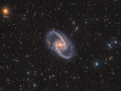NGC 1365 - A Cosmic Maelstrom in Fornax