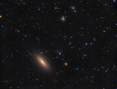 The Spindle Galaxy (NGC 3115)