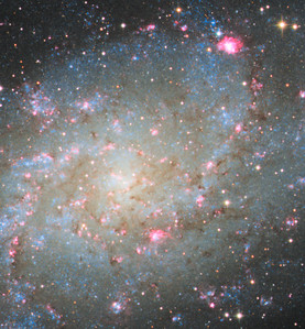 M33 close up on core
