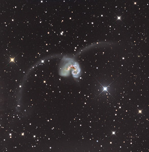 NGC4038 and NGC4039 (The Antennae galaxies)