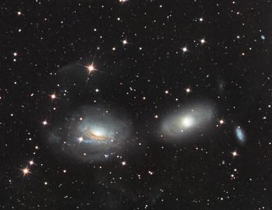 NGC3169 and NGC3166