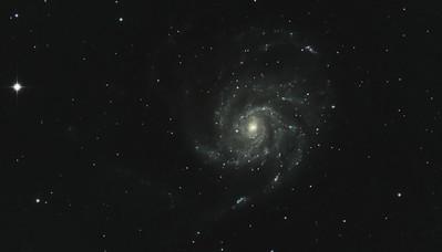 Pinwheel Galaxy M101 Cropped