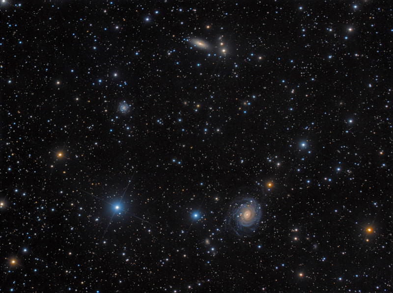 NGC 6902 / NGC 6902B / IC 4946 - Galaxy Group in Sagittarius