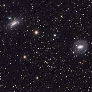 Galaxies in Hydra (tight crop)