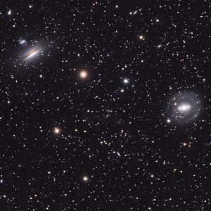 Galaxies in Hydra (tight crop)