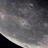 ISS crosses Moon Sept. 6, 2015 at 6:23am PDT