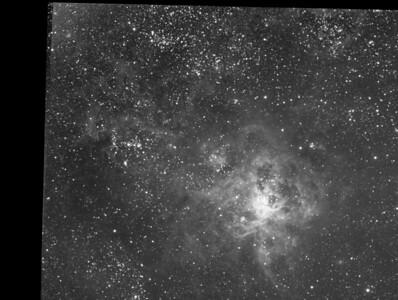 2012 Luminance Image of SN1987a Area