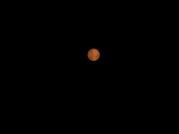 I was trying to figure out what the dark areas are using some planetarium software. It was harder than I thought because Mars was straight overhead and the telescope was rotating as it was going past the zenith.