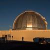 Sunset on the NASA Infared Telescope, Mauna Kea Observatory, HI 12-03-17