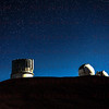 Mauna Kea Observatory Subaru and Keck Telescopes. 12-03-17